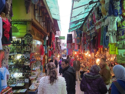shoppen in Khan el Khalili