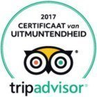 Kingfisher Tours TripAdvisor certificate of excellence